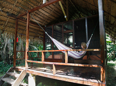 Tapir Lodge - Hammock area