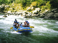Suchipakari Lodge - Rafting