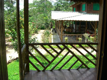 Suchipakari Lodge - Balcony